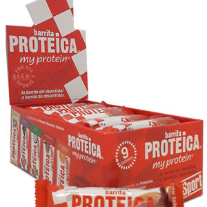 Barritas proteicas NutriSport 24 bars