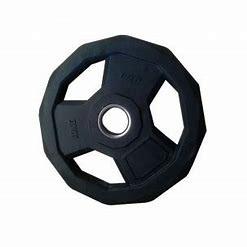 Disco Olímpico Hexagonal Casquillo Acero