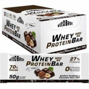Whey Protein Bar Avellana y Chocolate 20 bars