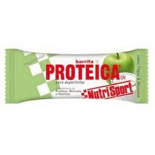 Barritas Proteicas NutriSport Manzana