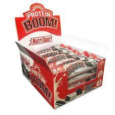 Barritas Protein Boom Nutrisport 24 bars