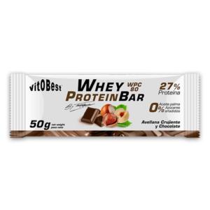Whey Protein Bar Avellana y Chocolate 50gr