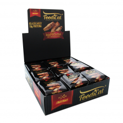 Bizcocho Proteico sabor chocolate 18x50gr